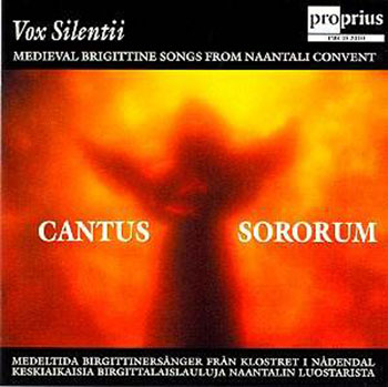 Cantus Sororum - Medieval Brigittine Songs from Naantali Convent