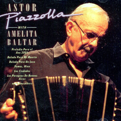 Astor Piazzolla with Amelia Baltar