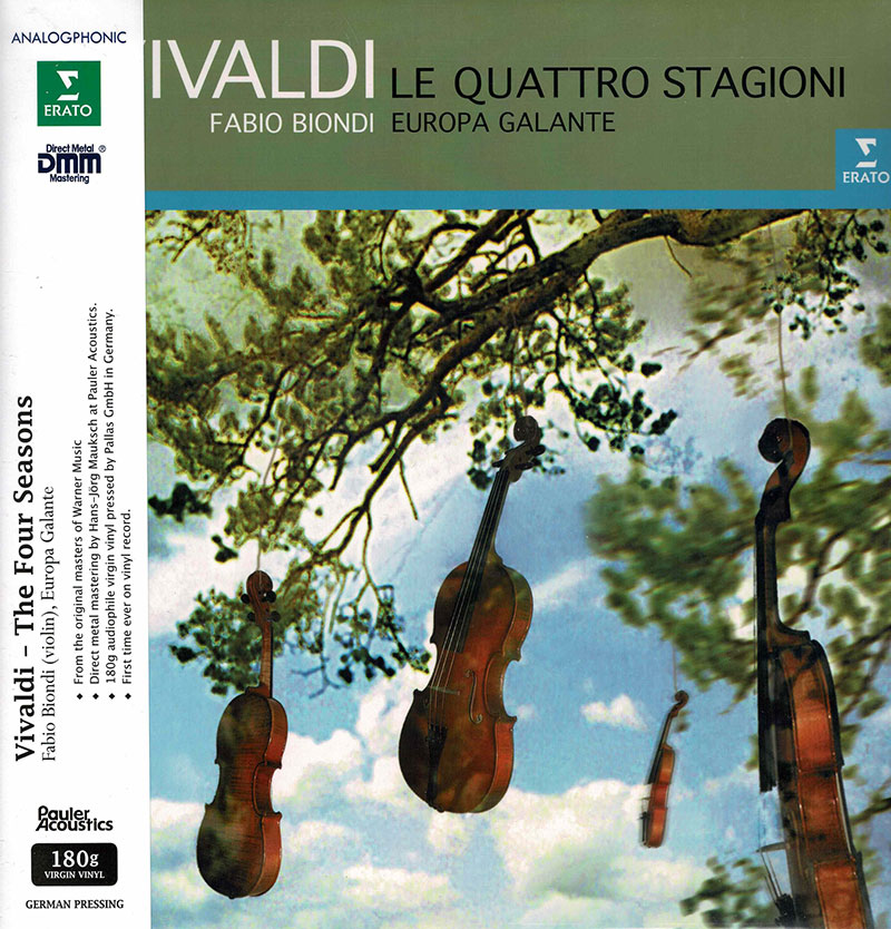 Le Quattro Stagioni - The Four Seasons / Concerto No. 11 for 2 Violins, Cello & Strings image