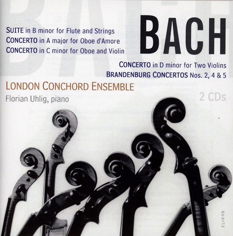 Suite in B minor / Concerto for Oboe d'Amore / Concerto for Oboe and Violin / Brandenburg Concertos 2, 4 & 5