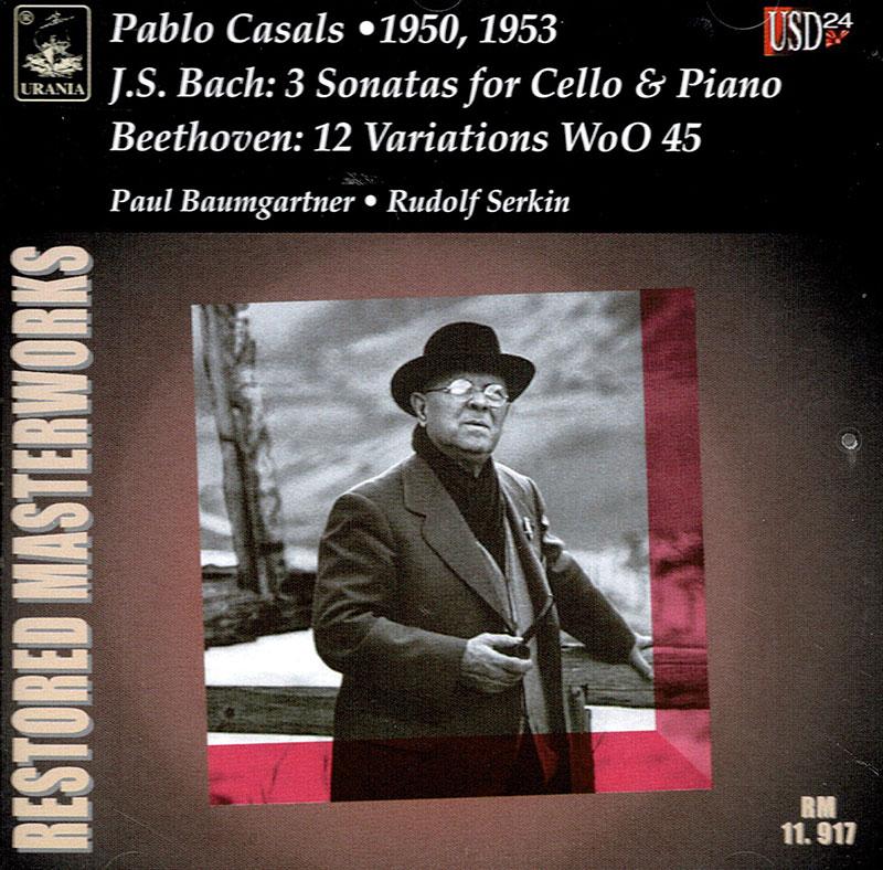3 Sonatas for Cello & Piano / 12 Variations