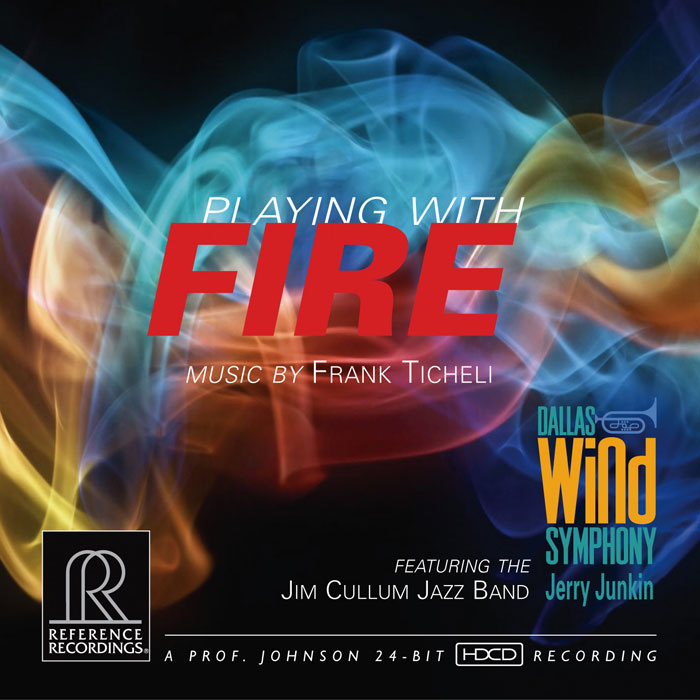 Playing with FIRE music by Frank Ticheli