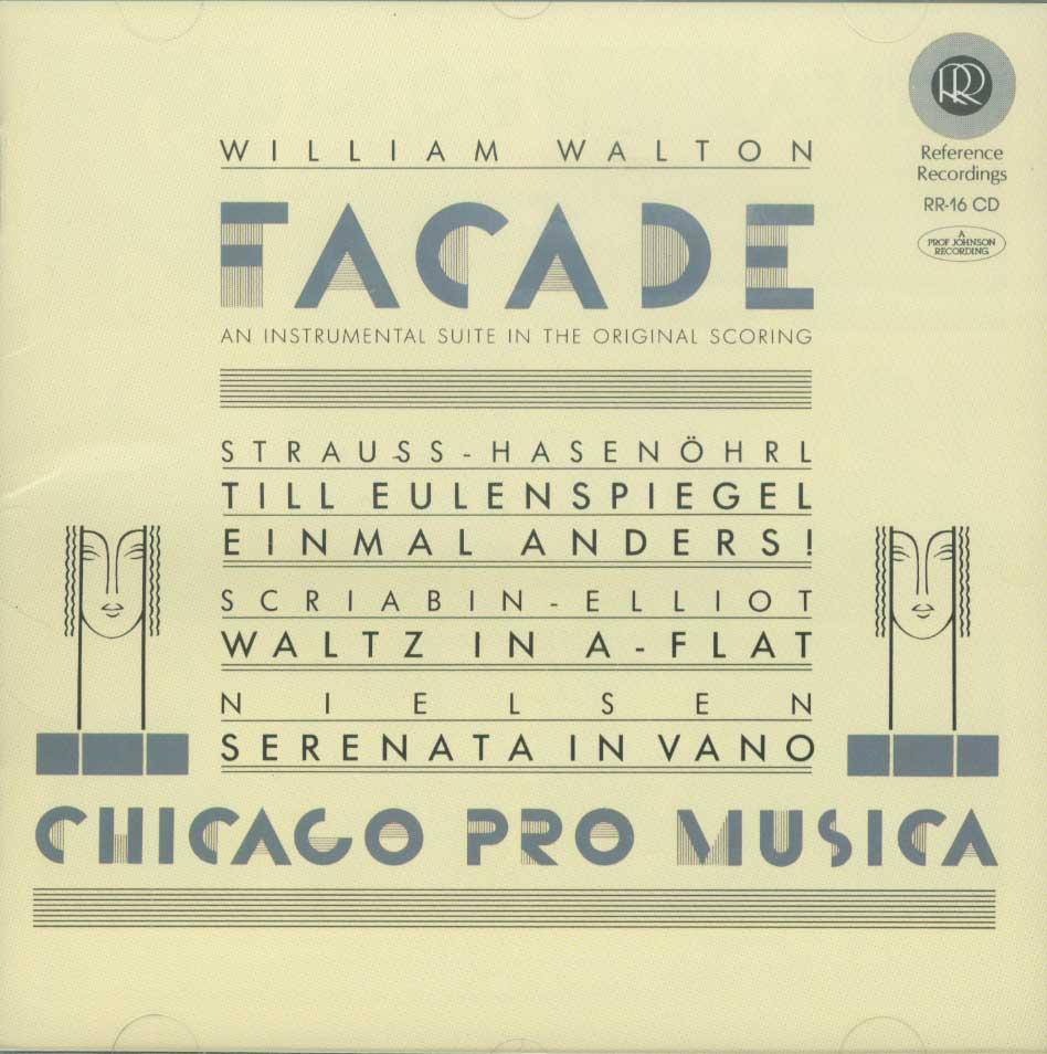 Facade Suite / Till Eulenspiegel / Waltz in A-flat / Serenata in Vano