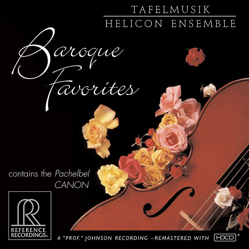 Baroque Favorites - Air from Suite No. 3 in D / Canon / Selections from Water Music, Suite No. 1 / Trio Sonata in C, BWV 1037 image