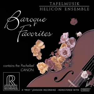 BAROQUE FAVORITES - Canon / Water Music / Aria na strunie G