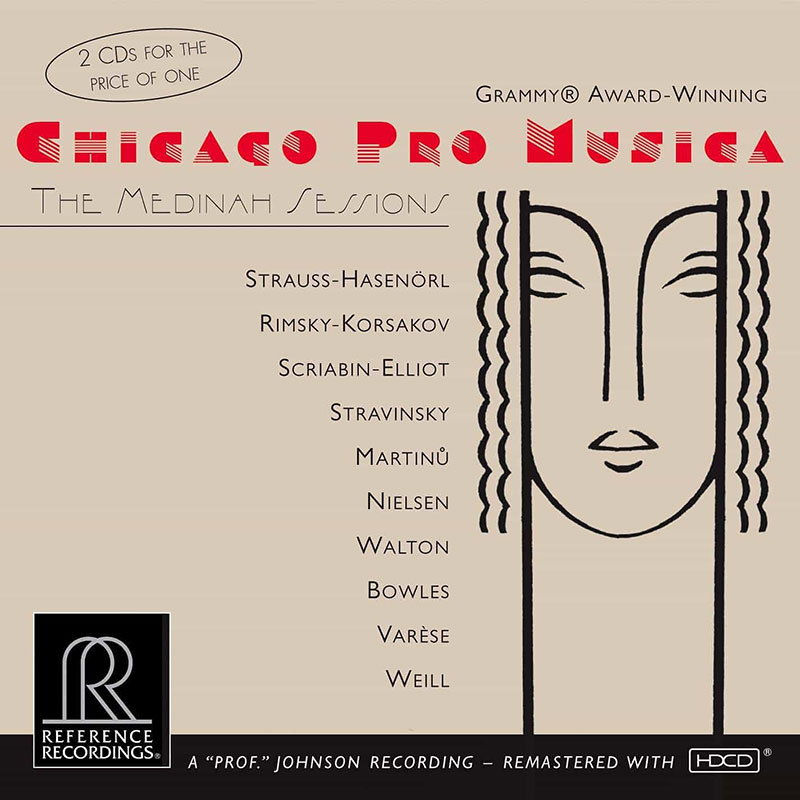 The Medinah Sessions - The Soldier's Tale / Facade Suite / The Threepenny Opera Suite