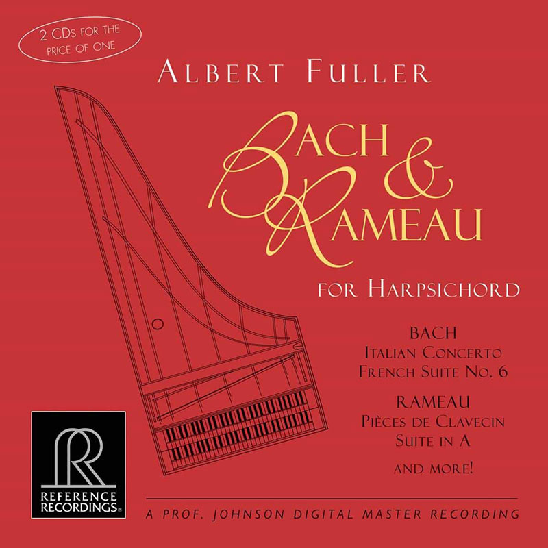Albert Fuller Plays Bach and Rameau