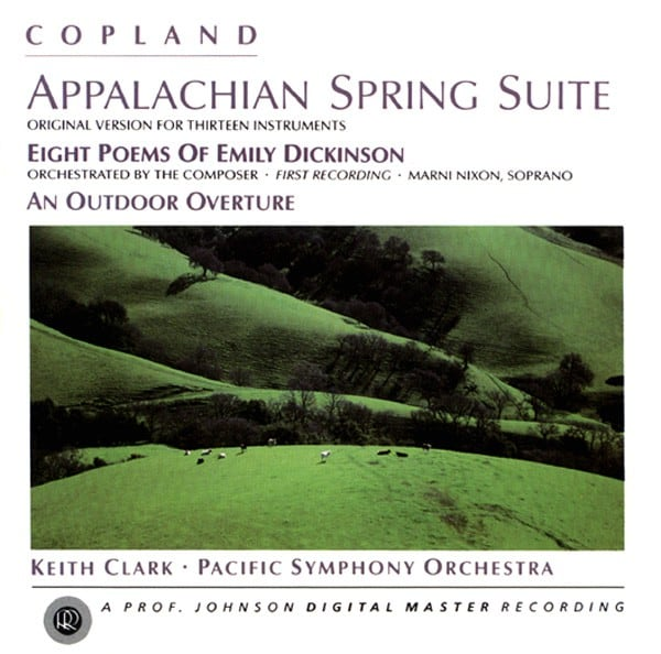 Appalachian Spring / Eight Poems of Emily Dickson