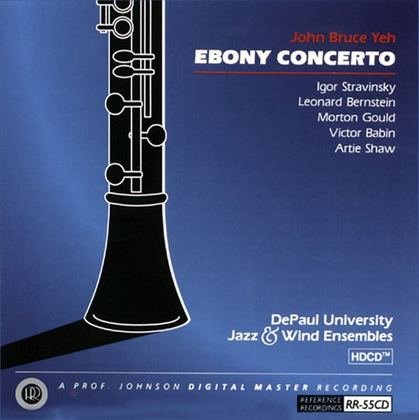 Ebony Concerto / Hillandale Waltzes / Derivations / Prelude, Fugue and Riffs / Concerto for clarinet