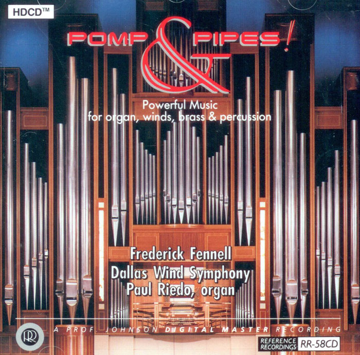Pomp and Pipes - Powerful Music for organ, winds, brass & percussion image