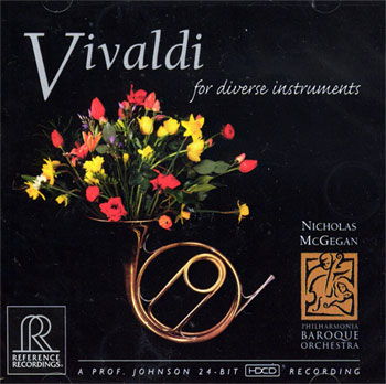 VIVALDI for Diverse Instruments 24 BIT HDCD!