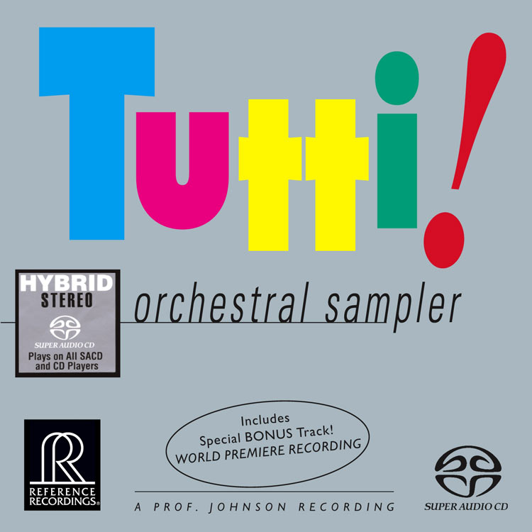 TUTTI! - An Orchestral Sampler