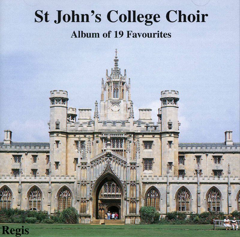Album of 19 favourites from St.John's College Choir, Cambridge