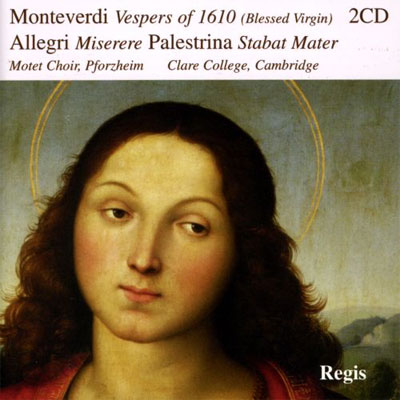 Vespro della Beata Vergine / Miserere / Marien Vespers of 1610