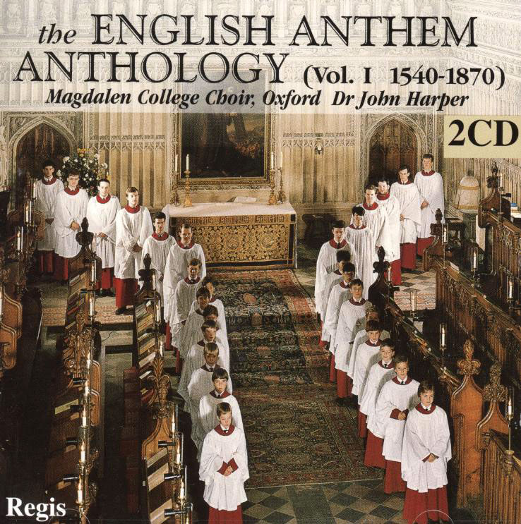 Anthology of English Anthems - vol. 1 - 1540 - 1870