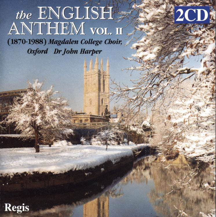 Anthology of English Anthems 1871- 1990