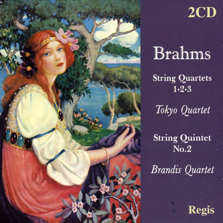 String Quartets 1-3 (complete) + String Quintet No.2