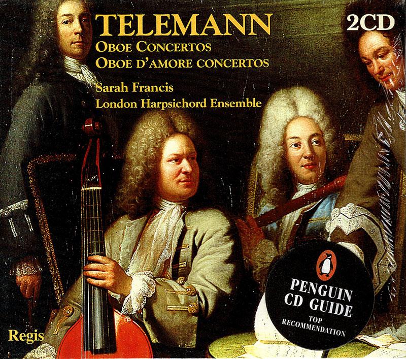 Oboe Concertos/Oboe D'Amore Concertos  image