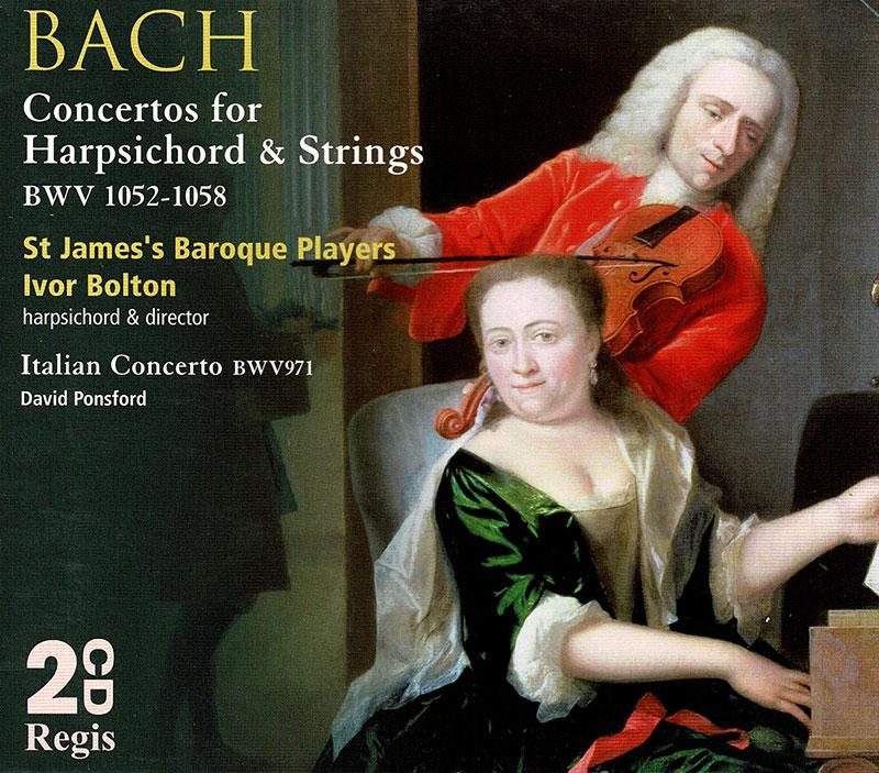 Keyboard Concertos Nos. 1-7 BWV1052-1058