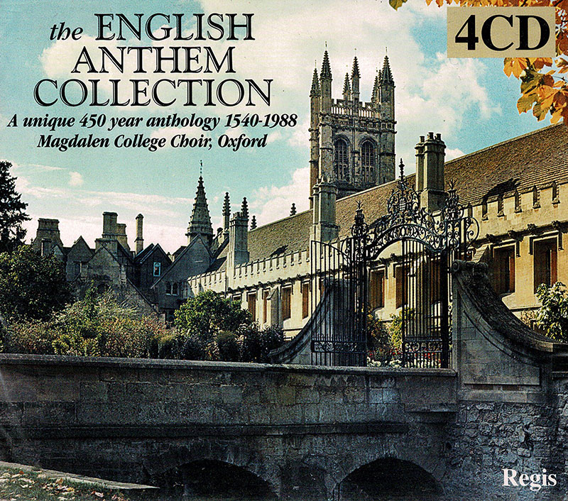 Anthology of English Anthems 1540 - 1990  image