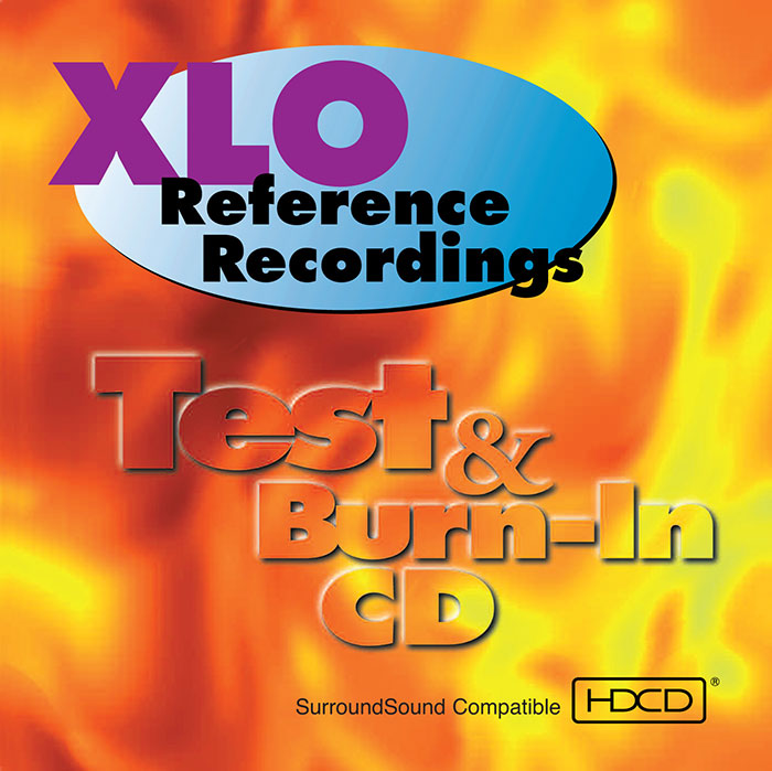 XLO / REFERENCE RECORDINGS TEST & BURN-IN CD