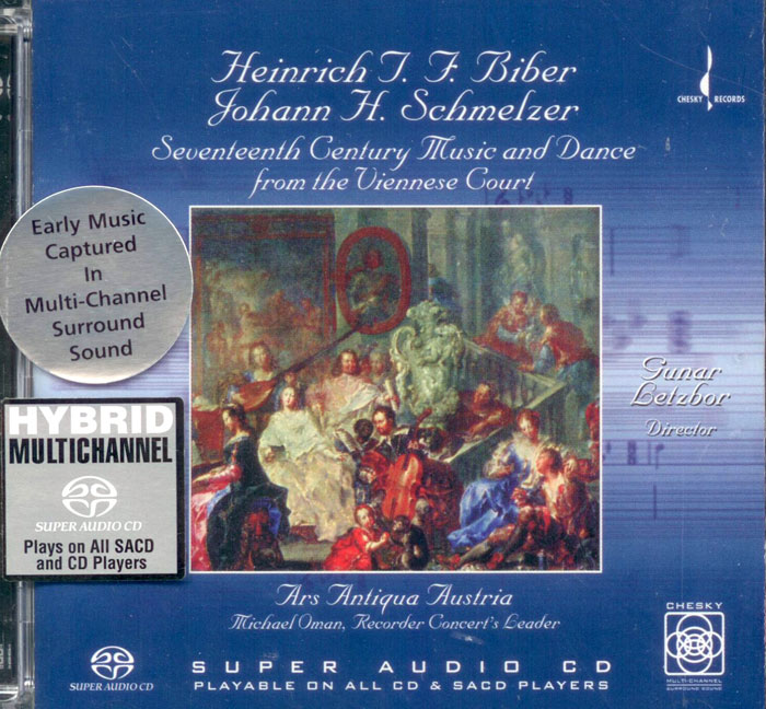 XVII Music and Dance from the Viennese Court image