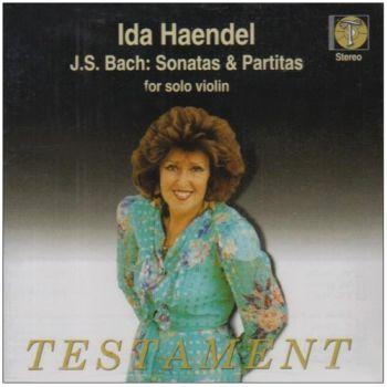 Sonatas & Partitas for solo violin, BWV1001-1006