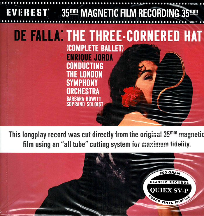 ThThree-Corned Hat - Complete Ballet  - Everest Records image