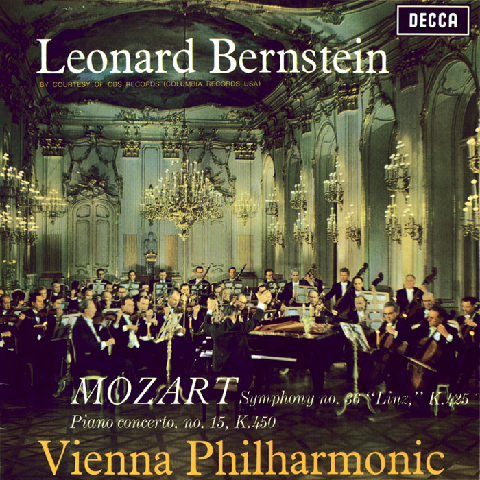 Concerto for Piano No. 15 / Symphony No. 36 Linz image