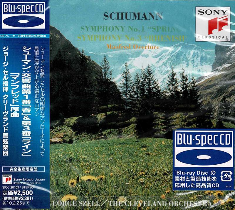 Symphony No. 1 Spring / Symphony No. 3 Rheinish / Overture Manfred