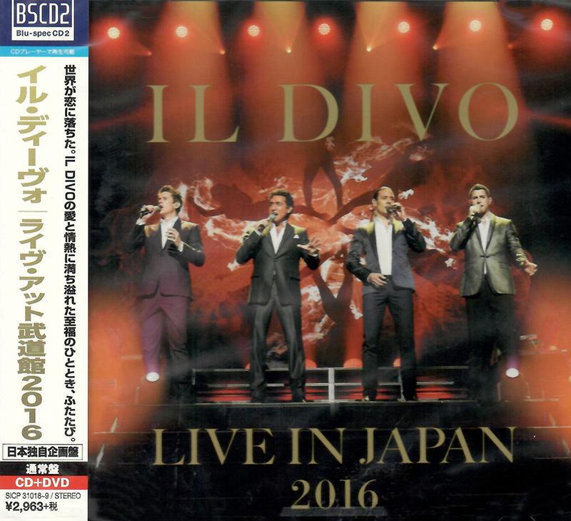 Il Divo - Live in Japan 2016