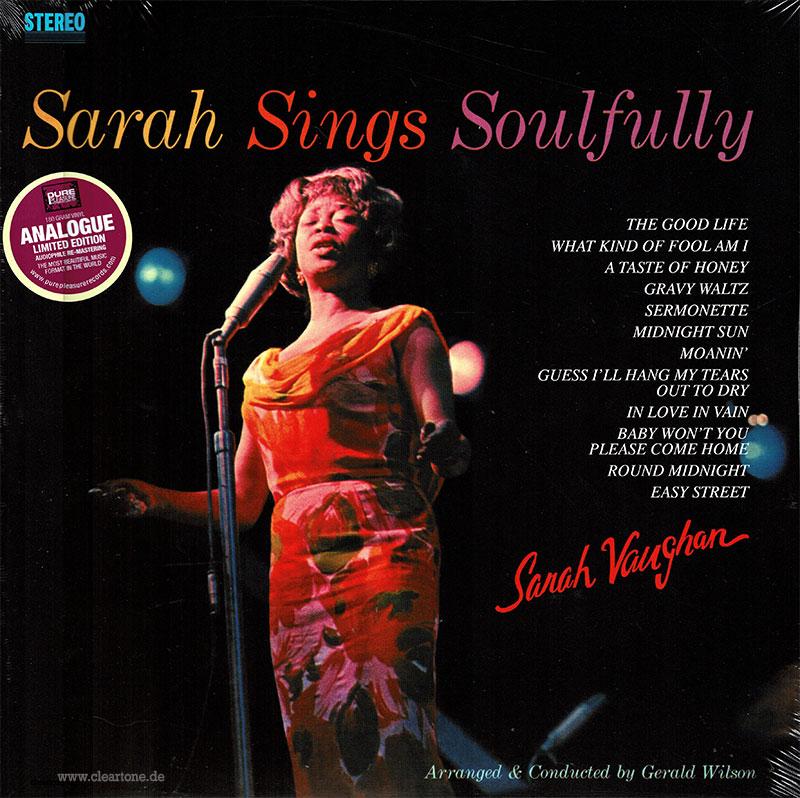 Sarah Sings Soulfully image