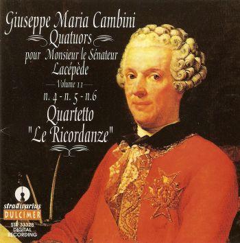 Quatuors Pour Monsieur Lacépède Vol. 2