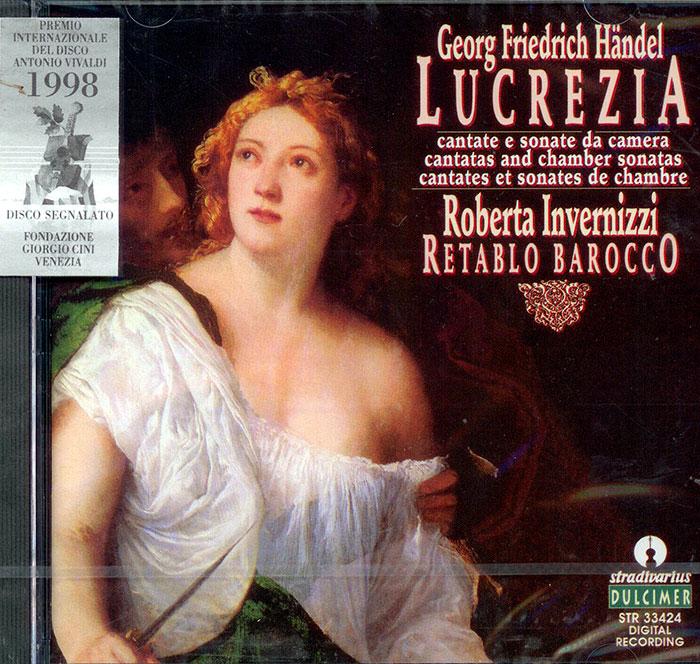 Lucrezia, Cantate e Sonate da Camera