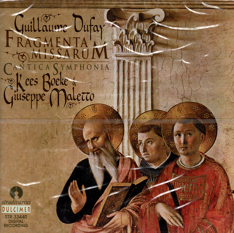 Fragmenta MissarumV - Cantica Symphonia