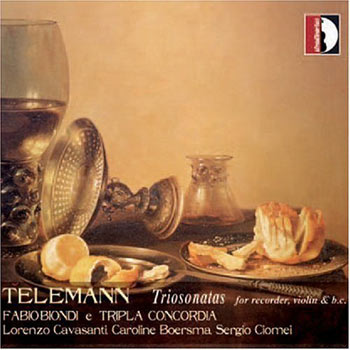 Trio Sonatas for recorder, violin and continuo