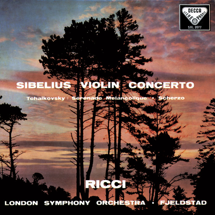 Concerto for Violin and Orchestra / Serenade melancolique image