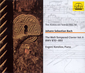 The Well-Tempered Clavier II - 2CD