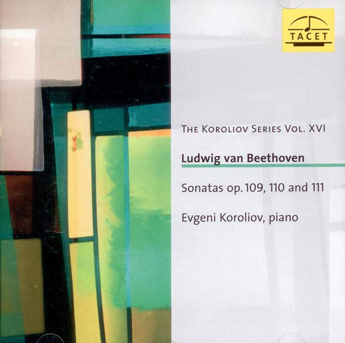 Sonatas op. 109, 110 and 111 image