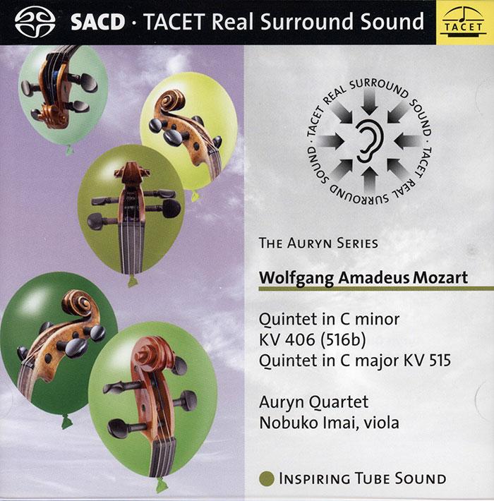 Quintet in C minor KV 406 (516b) / Quintet in C major KV 515