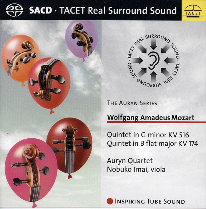 Quintet in G minor KV 516 / Quintet in B flat major KV 174