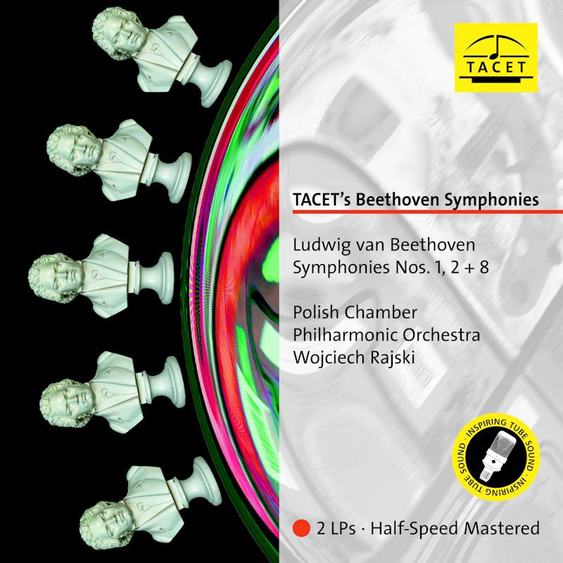 Symphony Nos. 1, 2 & 8
