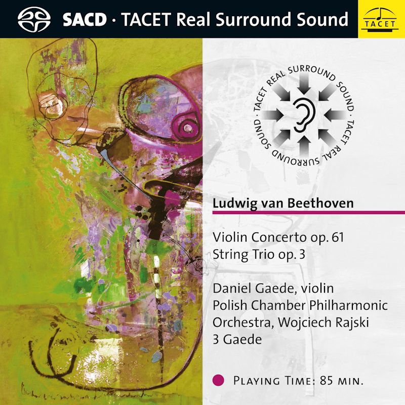 Violin Concerto op. 61 / String Trio op. 3