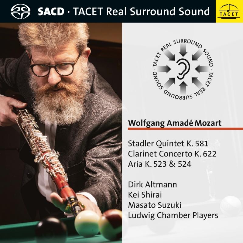 Stadler Quintet K. 581 / Clarinet Concerto K. 622 / Aria K. 523 & 524