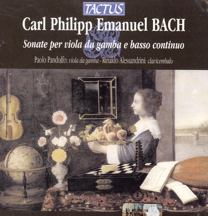 Sonatas for Viola da Gamba and Continuo