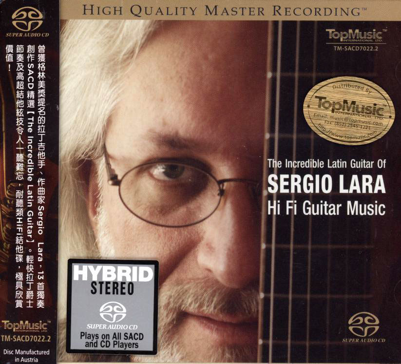 The Incredible Latin Guitar of Sergio Lara - HiFi Guitar Music
