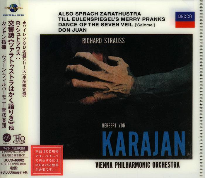Also sprach Zarathustra / Till Eulenspiegels lustige Streiche / Salome's Dance, for orchestra / Don Juan