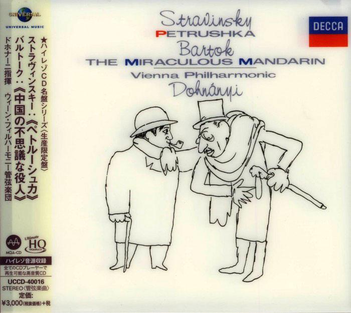 Petrushka / The Miracoulous Mandarin