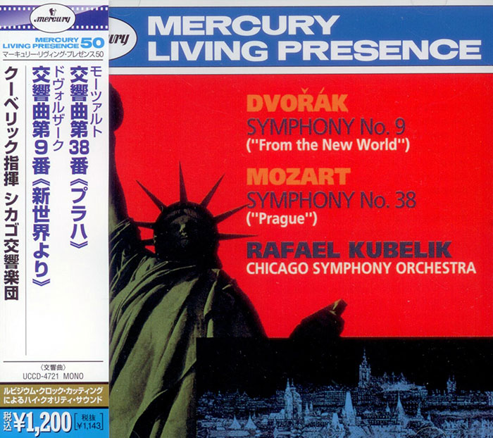 Symphony No. 38 Prague / Symphony No. 9 From the New World