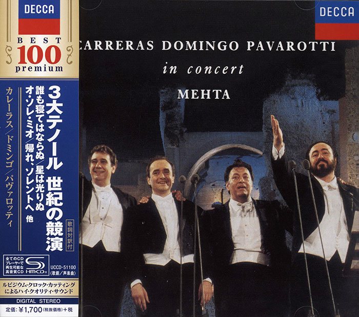 Live - Three Tenors - In Concert  image
